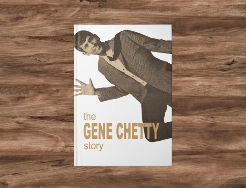 The Gene Chetty Story – Cover design, typesetting and print